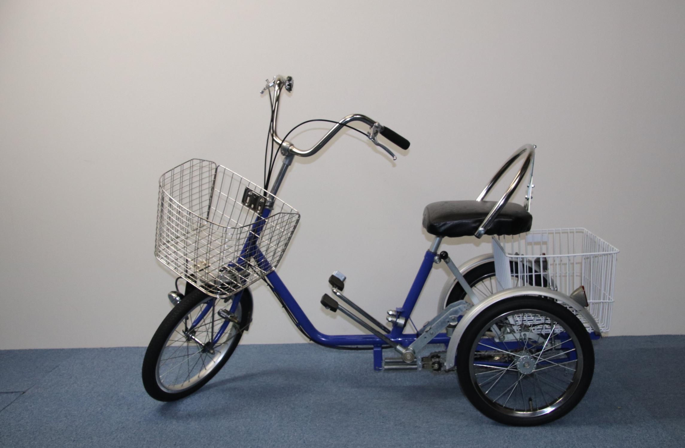 踏込み式三輪人力タイプ